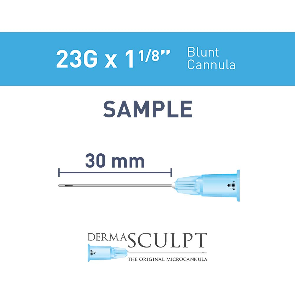 "Single  Cannula of 23G x 1⅛"" (29mm)"